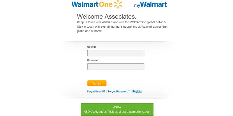 Walmart associate login - WalmartOne login
